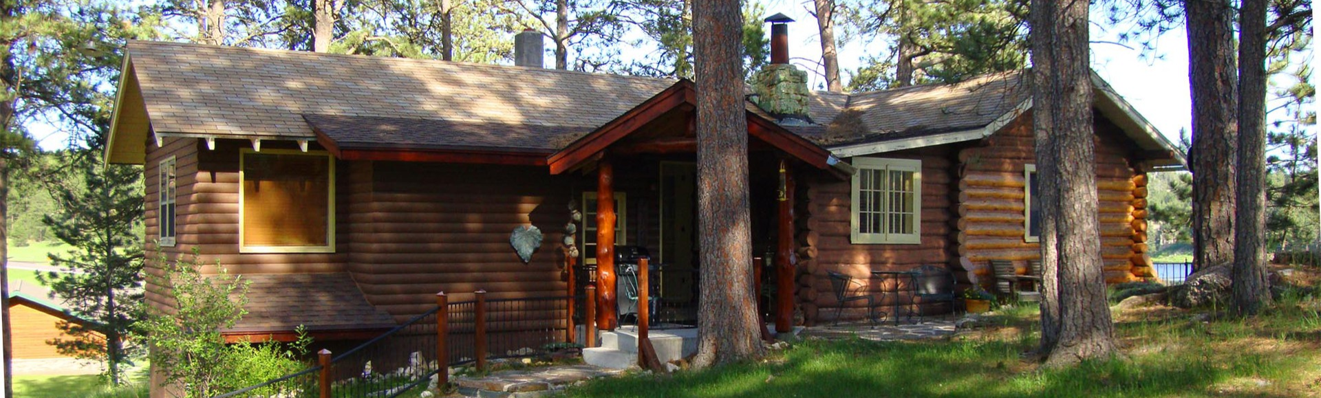 Stockade lake cabin home for Cabins near custer sd